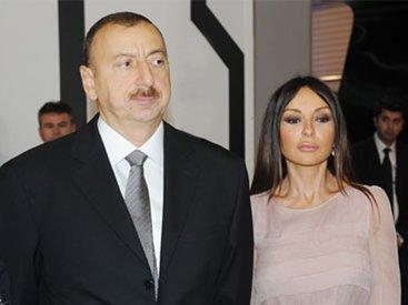 Prezident İlham Əliyev və xanımı Zərdaba səfərə gəliblər