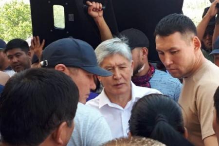 Qırğızıstan DİN-dən eks-prezidentin saxlanılması barədə rəsmi açıqlama: Məcburi qaydada saxlanılıb